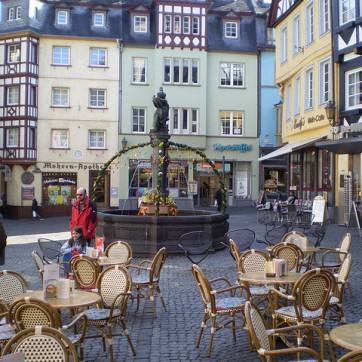 cafe in germany